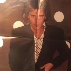 Vintage Rod Stewart Double-Sided Poster